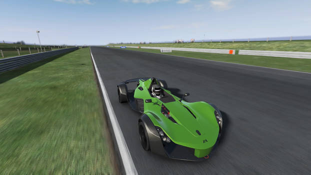 BAC Mono on the Track