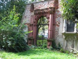 cementery door II by two-ladies-stocks