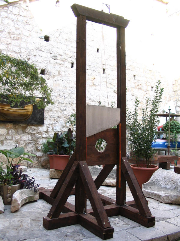 guillotine by two-ladies-stocks