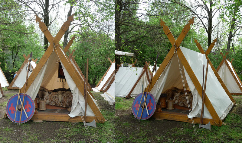Medieval Tents By Two Ladies Stocks On Deviantart