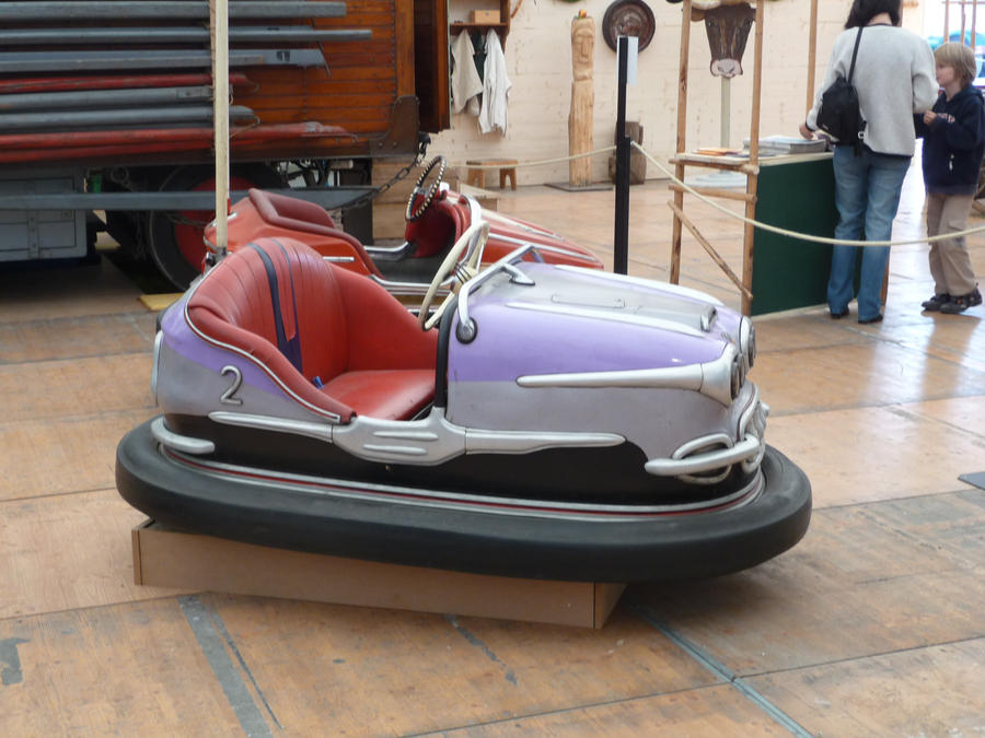 old bumper car IV by two-ladies-stocks