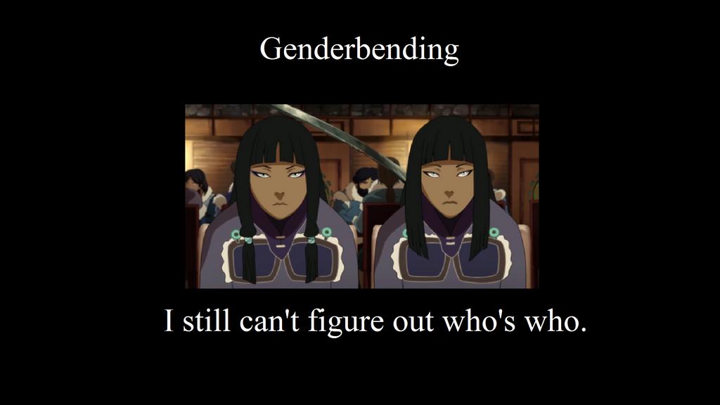 Genderbending by Redbayly