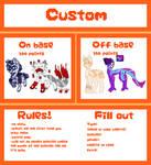 Custom [open] by orangemoonarts