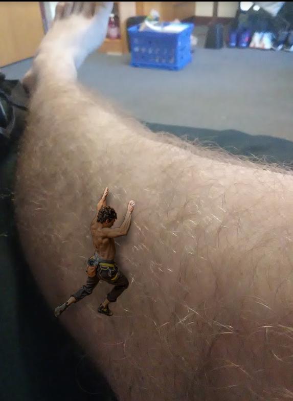 Leg Climber by DragonJarod