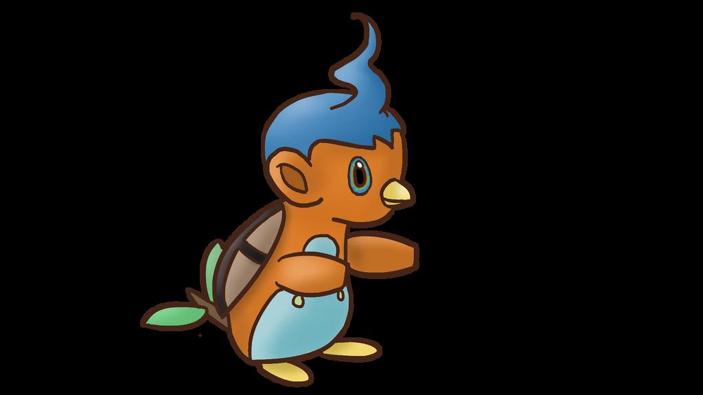 Starter Pokemon Combo - Piplup, Turtwig, Chimchar by DragonJarod