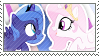 Pony sisters stamp. by SweetLeafx