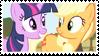 TwiJack stamp by SweetLeafx