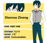 Diannao Zineng // First Year // Support Class