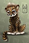 A little cheetah cub