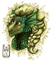 Dragon Sam by OnTheMountainTop