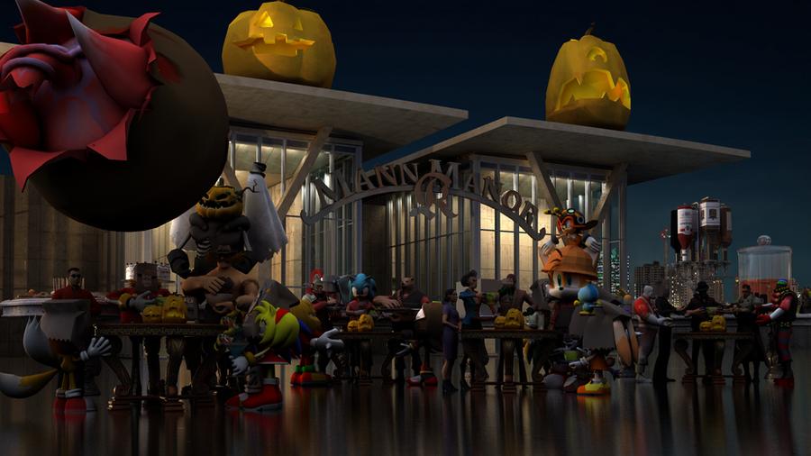 Sonic Team Fortress 2 and Starfox Halloween by KEDI103 on DeviantArt