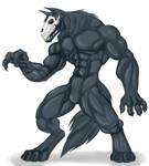 Dark anthro creature