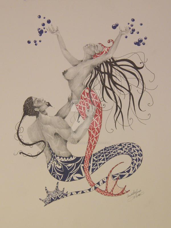 Splashing For Love by butterflyannie