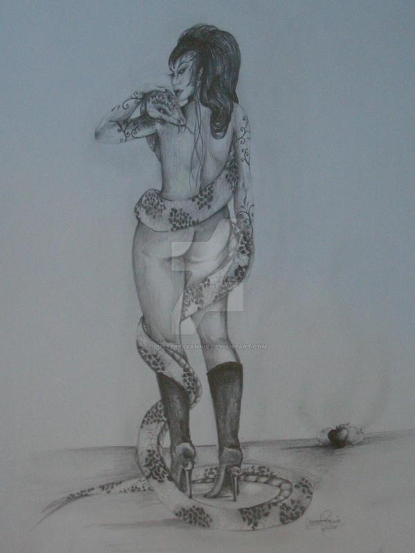 Sister snake by butterflyannie