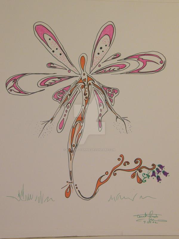 FLowerfly by butterflyannie