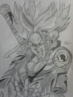 Trunks Super Saiyan by Conzibar