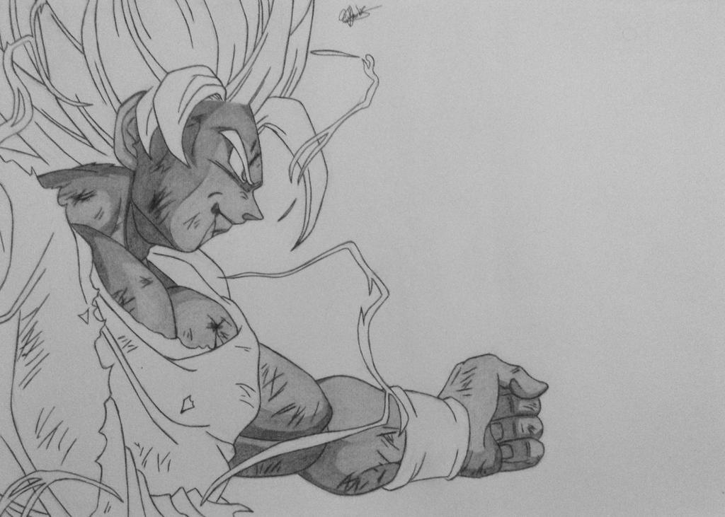 Goku Super Saiyan 2 WIP by Conzibar on DeviantArt