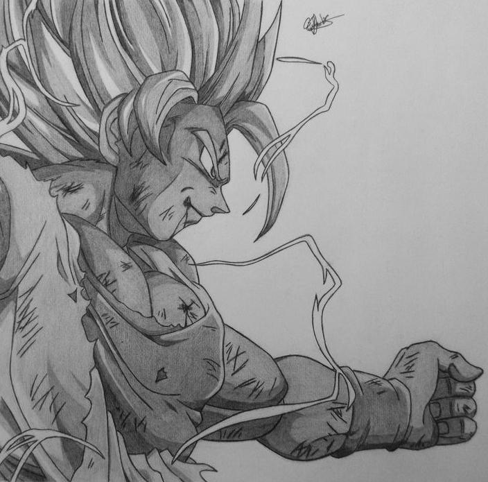 Goku Super Saiyan 2 by Conzibar on DeviantArt