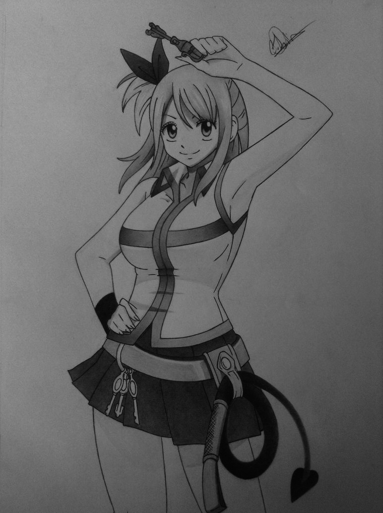 Lucy Heartfilia by Conzibar