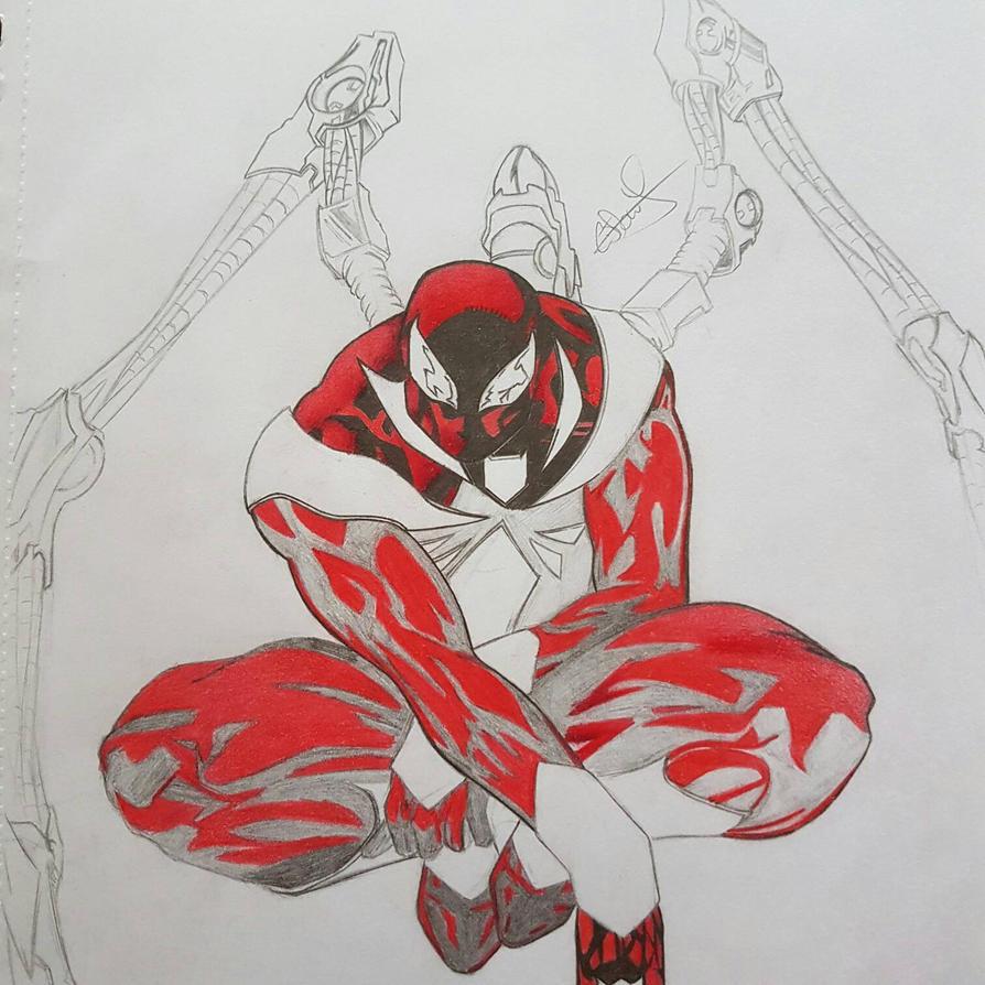 Iron-Spider WIP by Conzibar