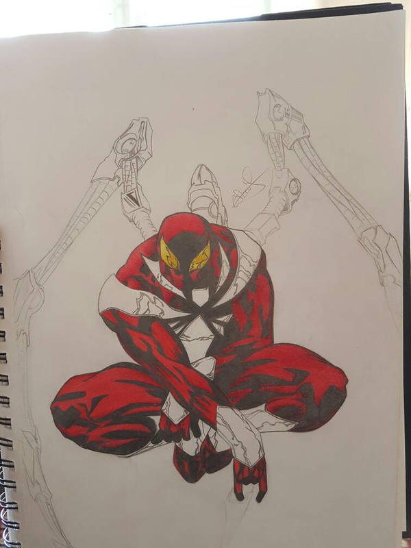 Iron-Spider WIP 2  by Conzibar