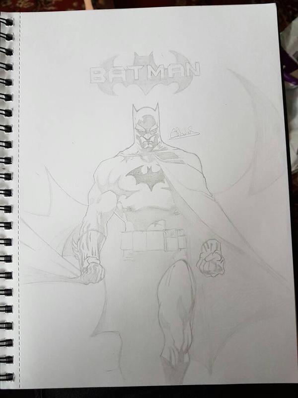 Batman WIP  by Conzibar