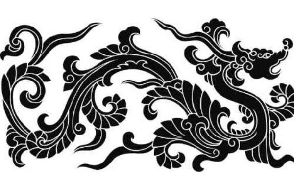 dragon stencil by kebor by kebxx all free vector download png all free vector download design