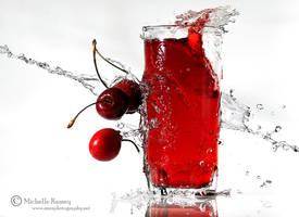 Cherry Juice II by MichelleRamey