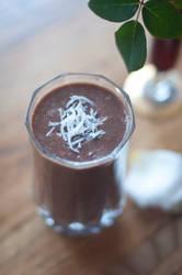 Vegan Chocolate Milkshake by MichelleRamey