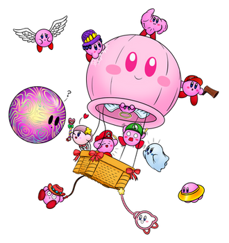 Every Kirby Ever #1 by Colonel-Majora-777