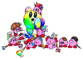 Every Kirby Ever #6 by Colonel-Majora-777
