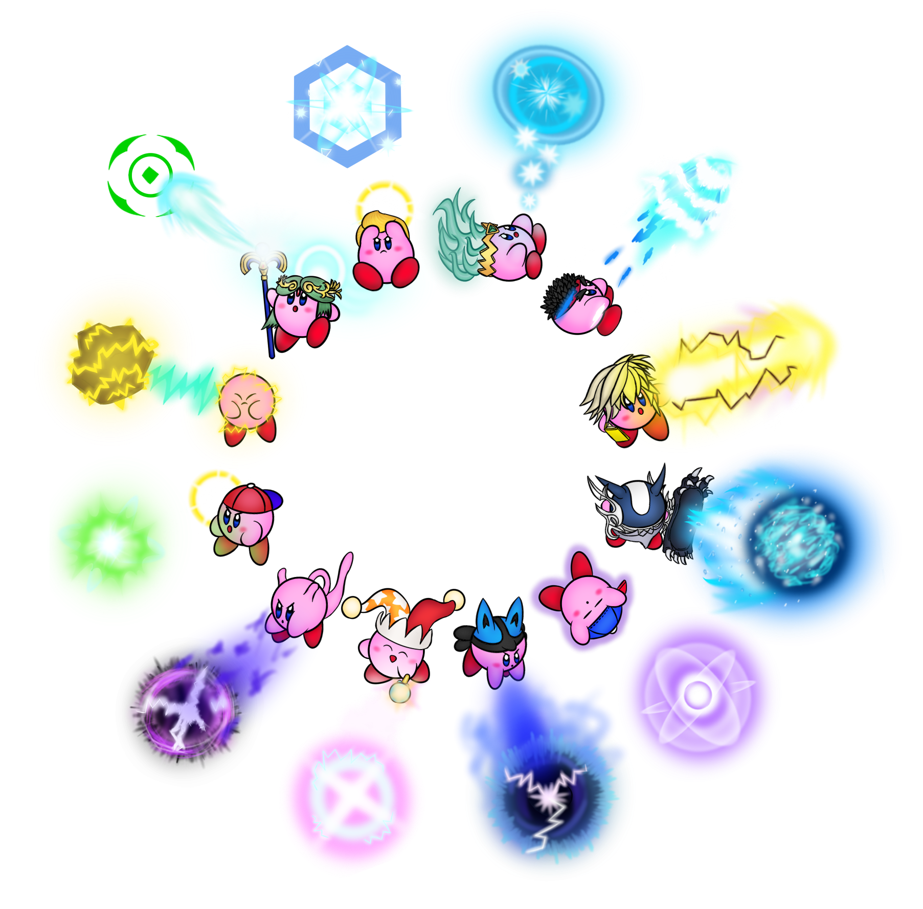 Every Kirby Ever #23 by Colonel-Majora-777