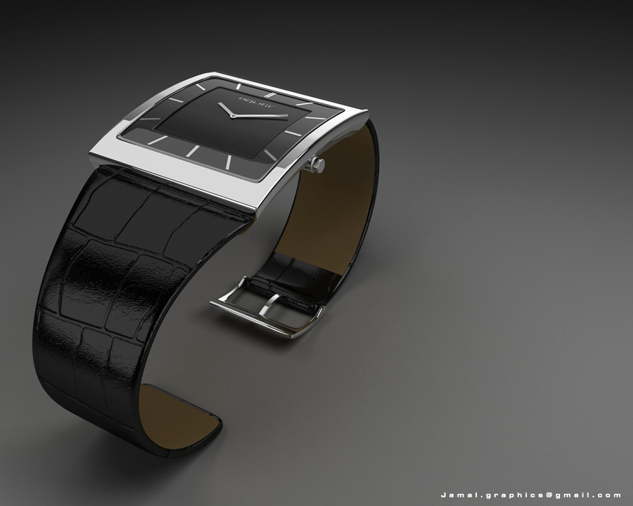 Modeling of wristwatch 3