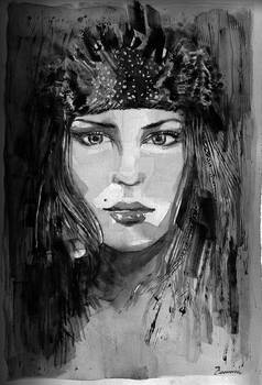 Girl with the headdress