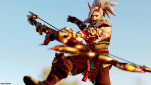 SMITE - Oni Hunter Rama