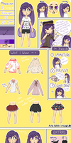 Madeline Reference sheet by powiibo