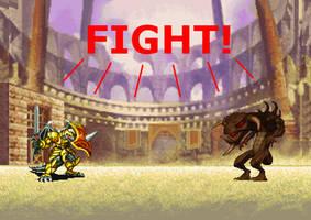 A fight of worth by LumenBlurb