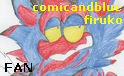 PM: COMICANDBLUE-FIRUKO fan stamp by LumenBlurb