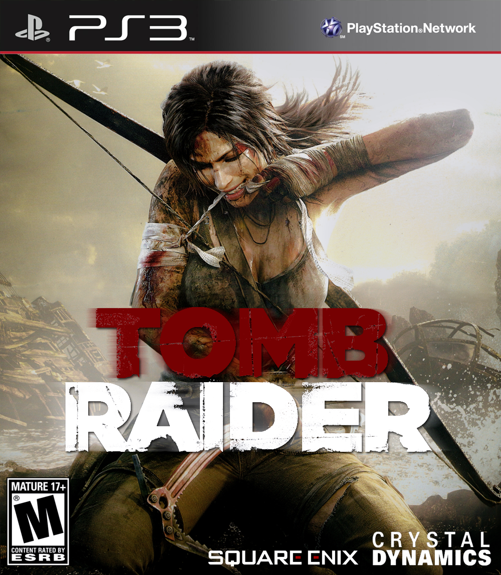 TOMB RAIDER 2013 - PS3 Cover by parazombie on DeviantArt
