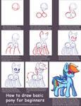 How to Draw A Basic Pony - Tutorial