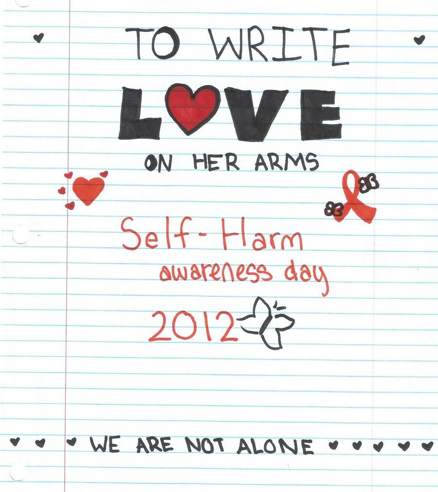 Self Harm Awareness: Self-Harm Awareness 2012 By MagicalOtaku On DeviantArt