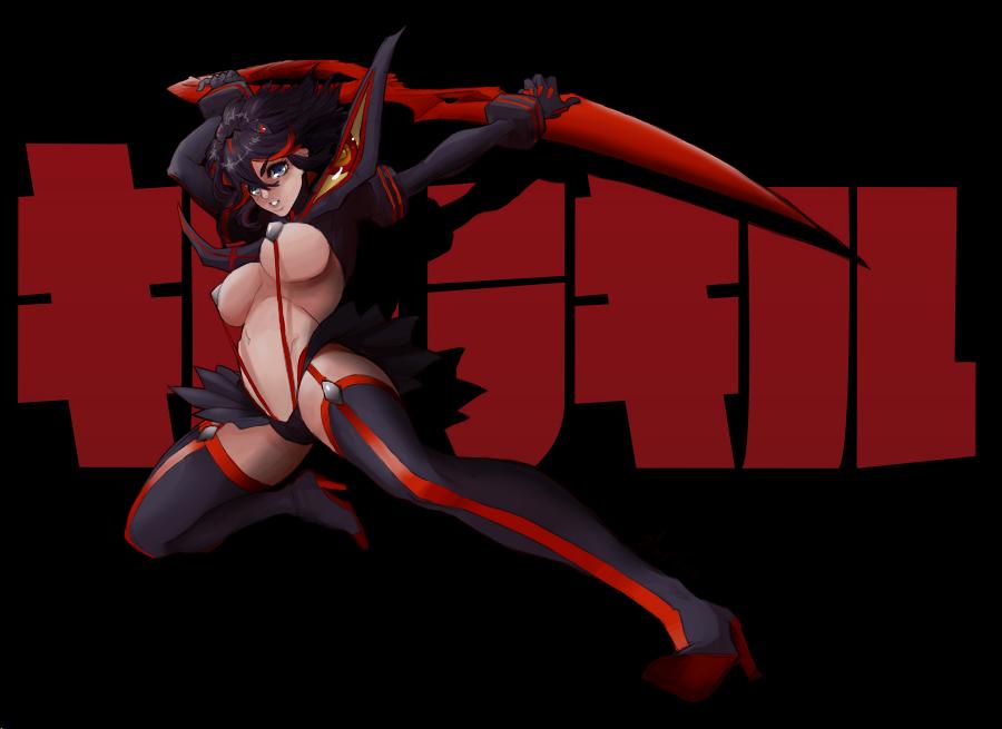 Ryuko Matoi by MagicalOtaku