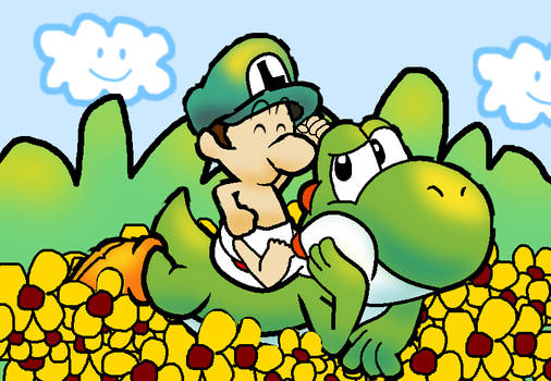 Yoshi and Luigi's Flower Field