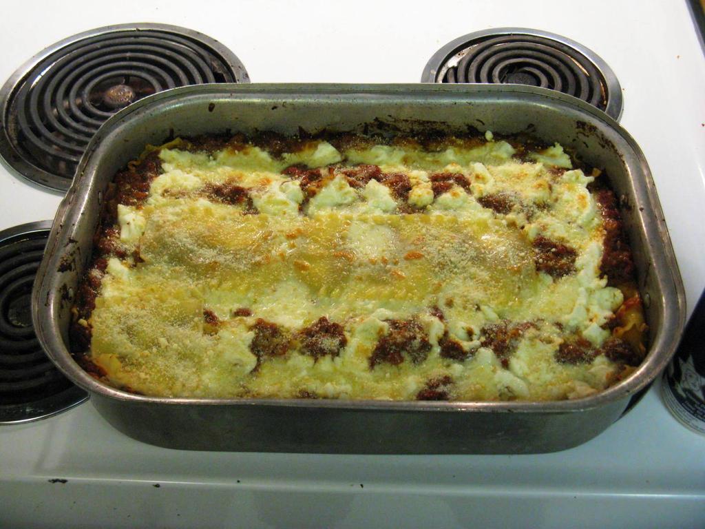 Christmas Eve Lasagna by BigMac1212