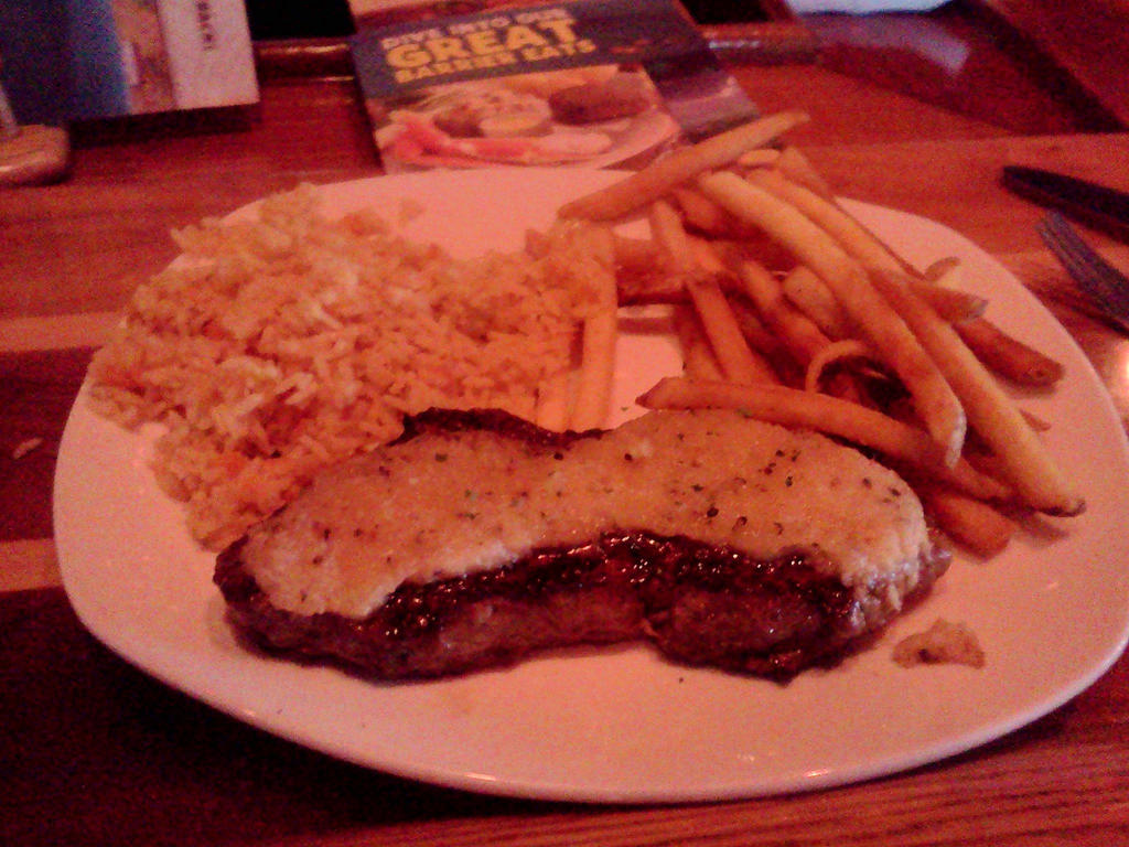 Outback New York Strip Steak by BigMac1212