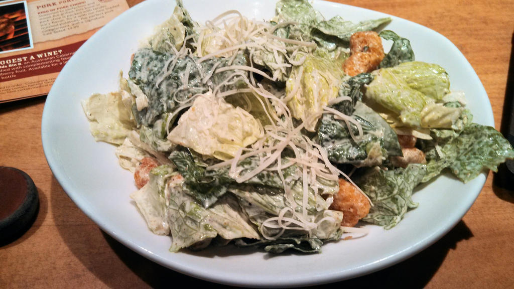 Outback Caesar Salad by BigMac1212