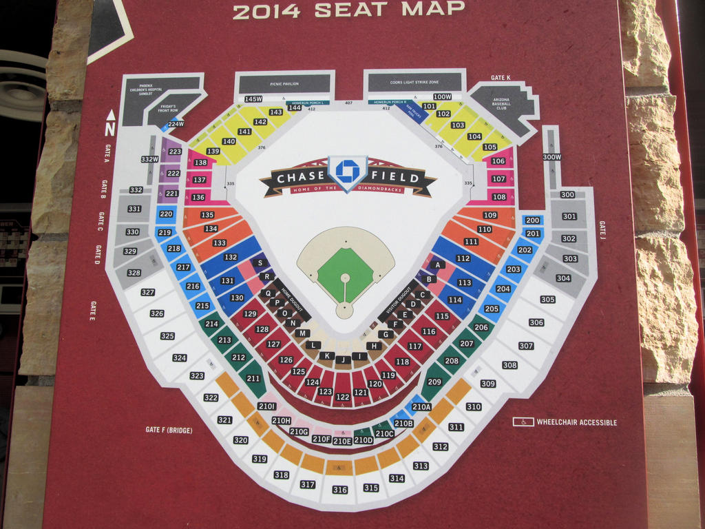 Chase Field Seating Chart by BigMac1212 on DeviantArt on