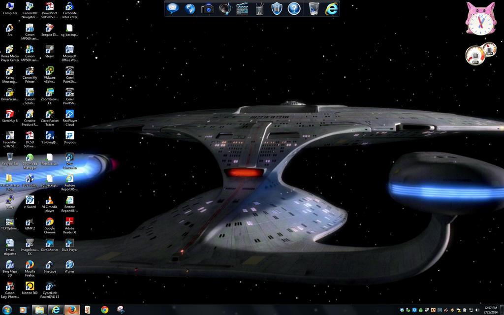 Star Trek - RA Entry- Enterprise going to warp, TMP-style ...