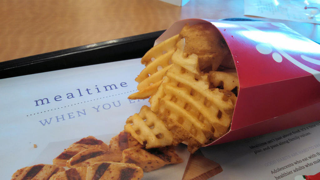 Chick-fil-A's Waffle Fries by BigMac1212 on DeviantArt