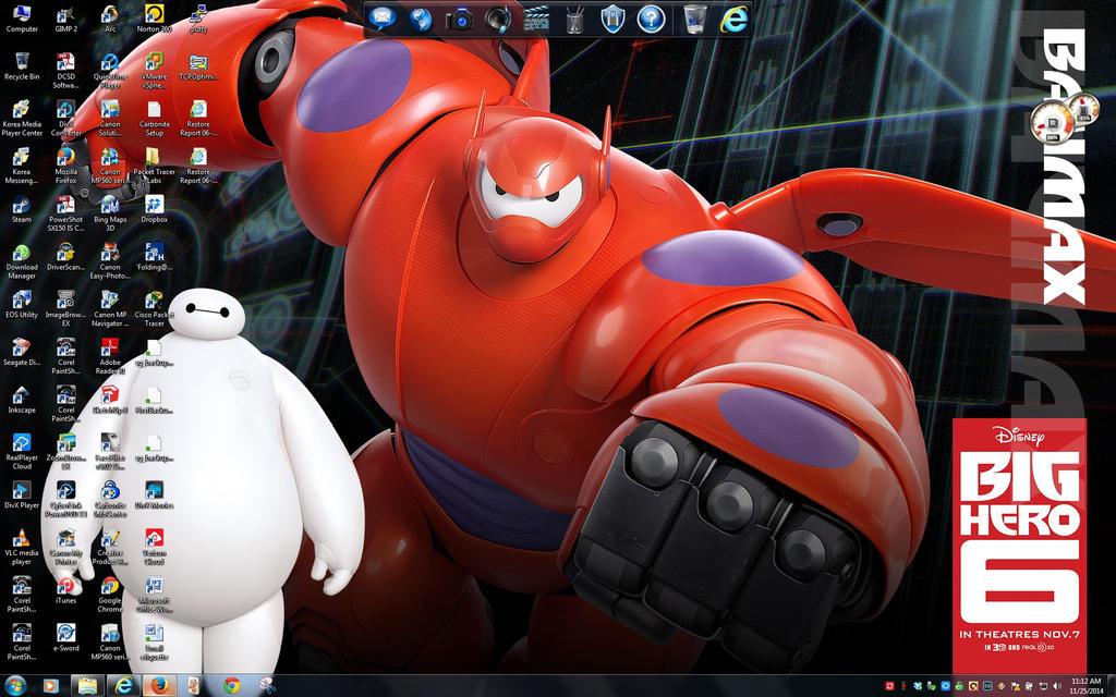 Baymax Desktop by BigMac1212